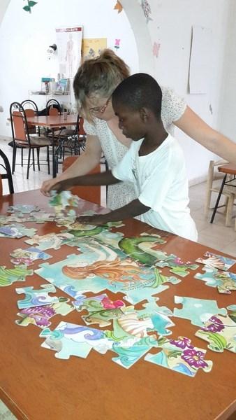 Djesli et les puzzles