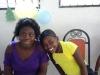 Dieula et sa fille Chrislène